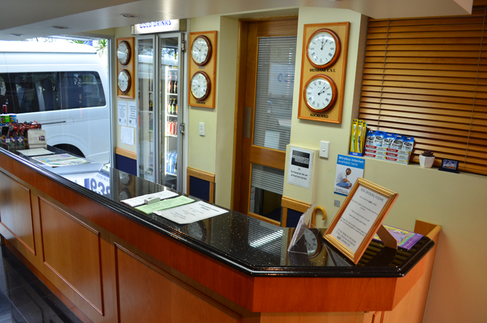 Reception Area desk